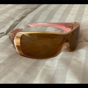 Oakley sunglasses riddle pink tan new awesome sale